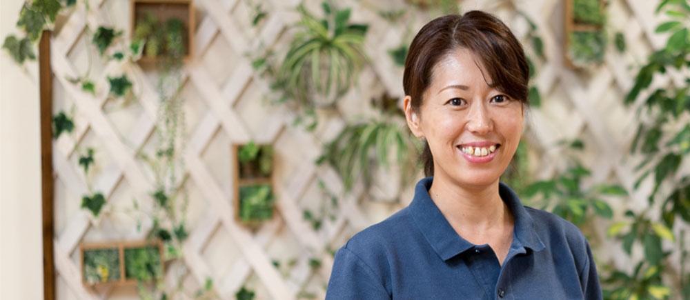 介護福祉士 ユニットリーダー 長田 智美さん